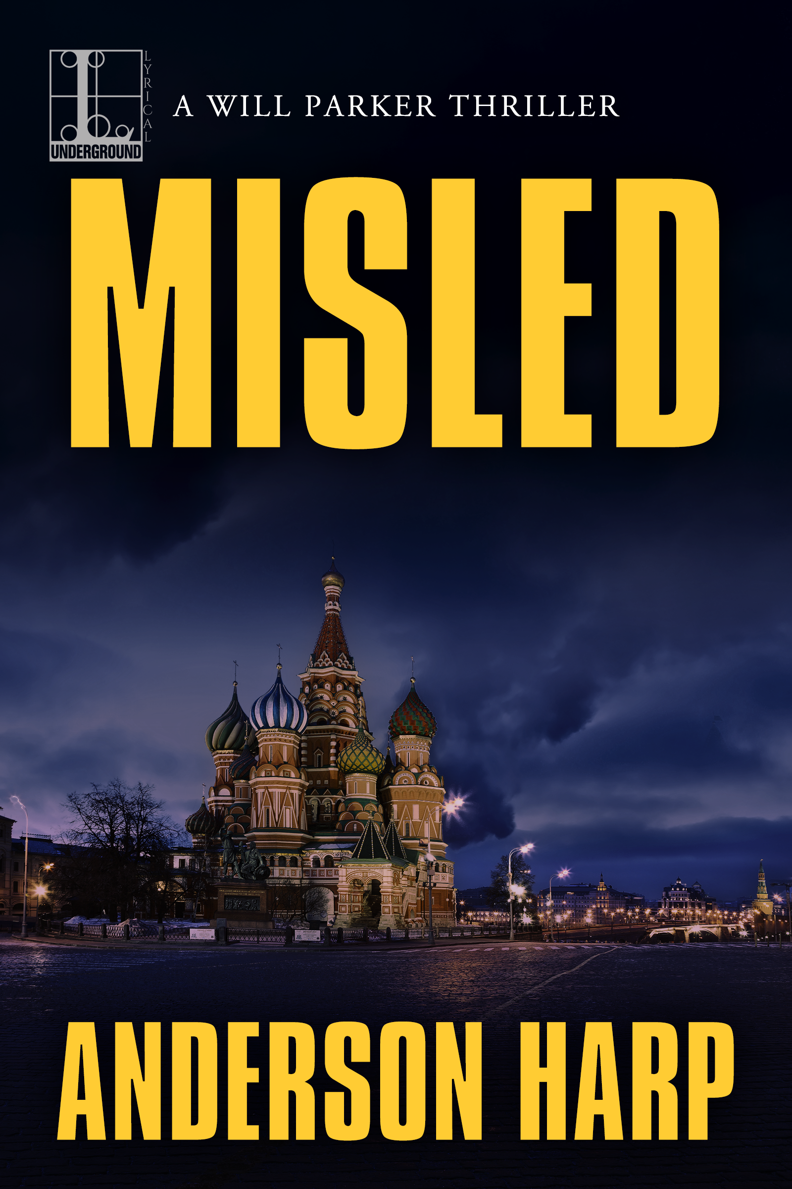 Misled, A Will Parker Thriller by Anderson Harp